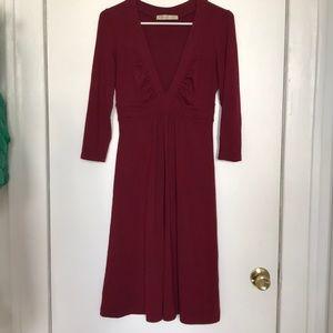 Susana Monaco: Burdundy Dress